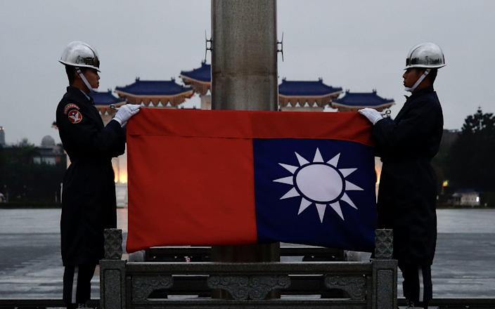 The trip to Taipei was scheduled to last from Wednesday to Friday - Ritchie B Tongo/EPA-EFE/Shutterstock