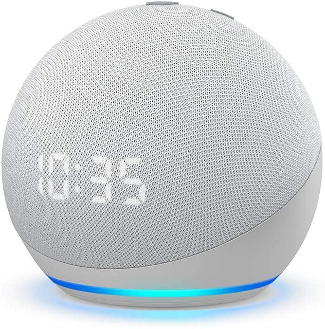 "<h3>Tech</h3><br><h2>35% Off New Echo Dot Smark Speaker With Alexa</h2><br>The most popular model of Alexa speakers, the all-new Echo Dot boasts a sleek aesthetic appeal combined with crisp sound quality and customizable smart-assistant capabilities — from smart-home sync control to weather and calendar reminders. <br><br><strong>Amazon</strong> Echo Dot, $, available at <a href=""https://amzn.to/3q0JpNE"" rel=""nofollow noopener"" target=""_blank"" data-ylk=""slk:Amazon"" class=""link rapid-noclick-resp"">Amazon</a>"