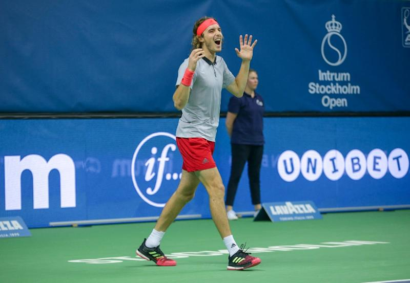 Stefanos Tsitsipas beats Ernests Gulbis to win Stockholm Open