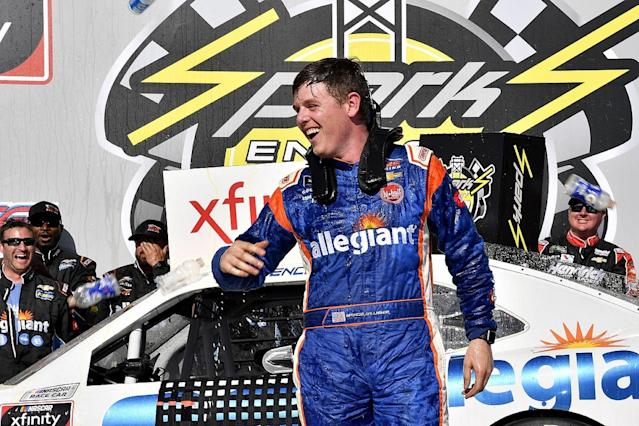 Hendrick Motorsports driver Chase Elliott will drive selected Xfinity Series races alongside his Cup commitments in place of Spencer Gallagher, who was banned from NASCAR competition for a drugs violation