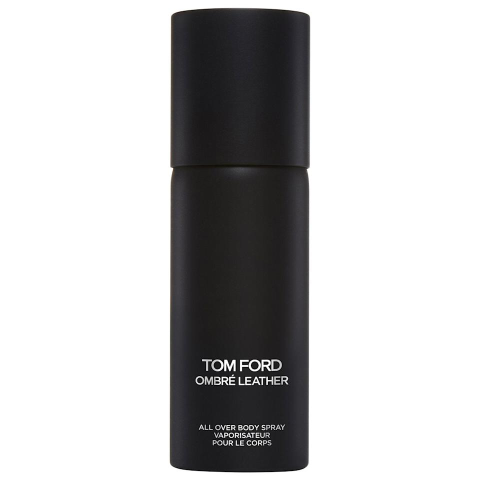 "<p><strong>TOM FORD</strong></p><p>sephora.com</p><p><strong>$49.00</strong></p><p><a href=""https://go.redirectingat.com?id=74968X1596630&url=https%3A%2F%2Fwww.sephora.com%2Fproduct%2Fombre-leather-all-over-body-spray-P451245&sref=https%3A%2F%2Fwww.cosmopolitan.com%2Fstyle-beauty%2Ffashion%2Fg22628672%2Fbest-gifts-husband%2F"" rel=""nofollow noopener"" target=""_blank"" data-ylk=""slk:Shop Now"" class=""link rapid-noclick-resp"">Shop Now</a></p><p>With warm, rich notes of black leather, cardamom, amber, and jasmine sambac, everyone can appreciate this unisex cologne. It doesn't come cheap, but when you consider the fact that you both will be wearing it, it's basically a steal.</p>"