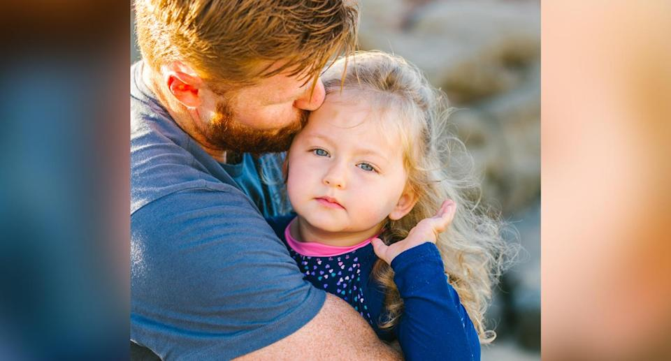 """The three-year-old was diagnosed with diffuse intrinsic pontine glioma (DIPG) in February. Source: <a href=""""https://littlekitephotography.com.au"""" rel=""""nofollow noopener"""" target=""""_blank"""" data-ylk=""""slk:Little Kite Photography"""" class=""""link rapid-noclick-resp"""">Little Kite Photography</a>"""