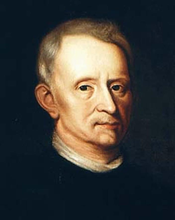 """<div class=""""inline-image__caption""""> <p>Portrait by Mary Beale, believed to be chemist Jan Baptist van Helmont, not Hooke.</p> </div> <div class=""""inline-image__credit""""> Wikimedia Commons </div>"""