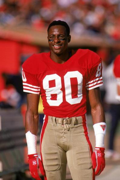 Jerry Rice. Equipos: San Francisco, 1987-88, 1990-94,1996, 1999; Oakland, 2003. Pro Bowl: 10