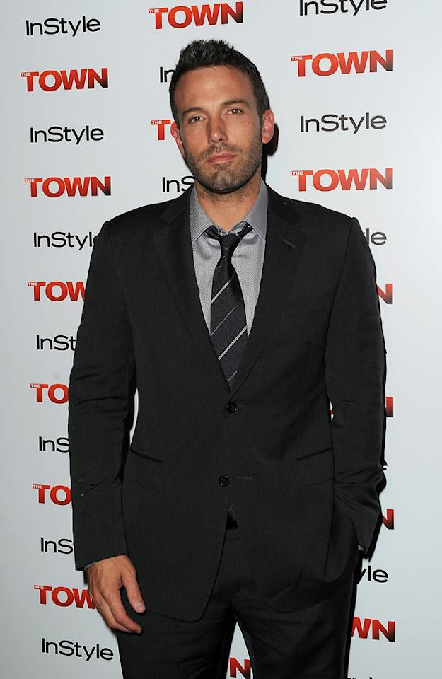 """<a href=""""http://movies.yahoo.com/movie/contributor/1800018969"""">Ben Affleck</a> at the 35th Annual Toronto Film Festival premiere of <a href=""""http://movies.yahoo.com/movie/1810112712/info"""">The Town</a> on September 11, 2010."""