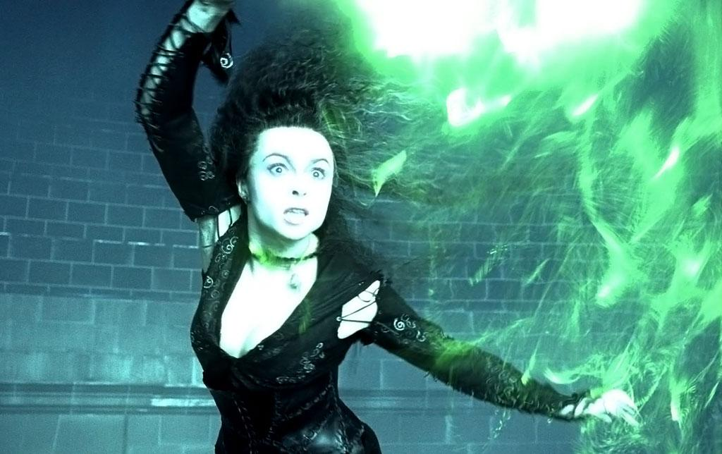 Bellatrix LeStrange in Harry Potter