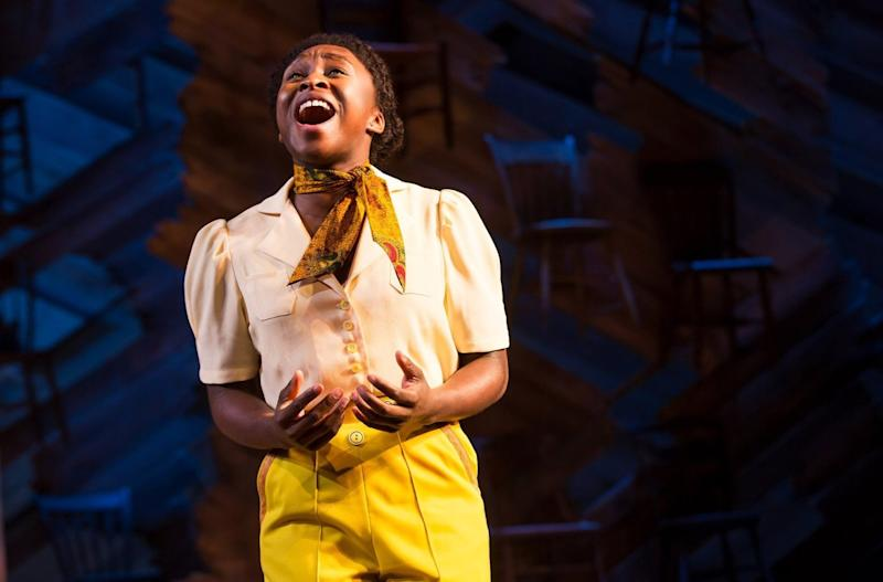 "Cynthia Erivo as Celie in ""The Color Purple."""