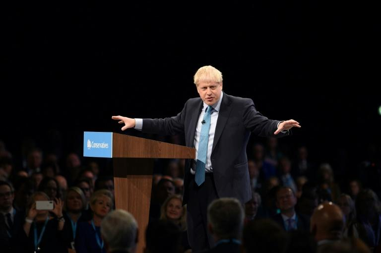 Johnson insists Britain will leave the EU with or without a deal at the end of this month, although he is required by law to seek a Brexit extention to avoid 'no-deal' (AFP Photo/Oli SCARFF                          )
