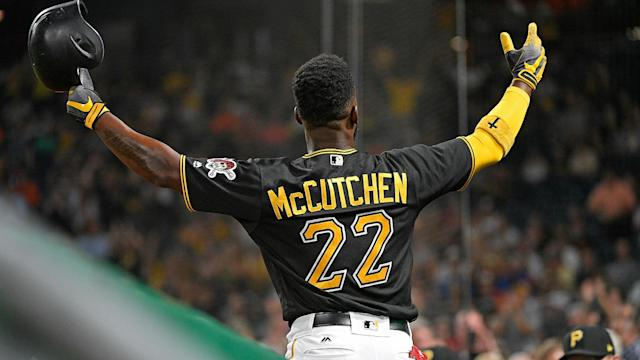Andrew McCutchen joins the Philadelphia Phillies from the New York Yankees on a three-year, $50million contract.