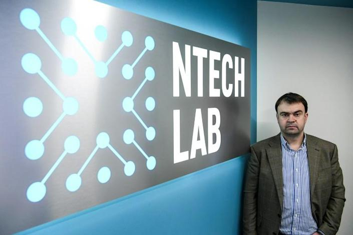 """""""The probability of a mistake by our facial recognition algorithm is 1 in 15 million,"""" says Alexander Minin, CEO of NtechLab, which won Moscow's tender to supply the technology (AFP Photo/Kirill KUDRYAVTSEV)"""