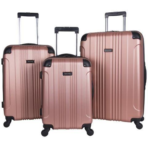 """<h3>Kenneth Cole Three-piece Set</h3><br><strong>The Type: </strong>Suitcase set<br><br><strong>The Hype:</strong> 4.7 out of 5 stars and 972 reviews on Walmart<br><br><strong>What Travelers Say: </strong>""""Beautiful, thick, and sturdy. The color is such a nice change from the ugly luggage we've had in the past. The 3 sizes are perfect. I actually bought the set for my mom, but I'm about to purchase it for myself as well."""" – <em>Carrie Ann K., Overstock Reviewer</em><br><br><em>Shop</em> <a href=""""https://www.overstock.com/Kenneth-Cole-Reaction,/brand,/results.html"""" rel=""""nofollow noopener"""" target=""""_blank"""" data-ylk=""""slk:Kenneth Cole"""" class=""""link rapid-noclick-resp""""><strong><em>Kenneth Cole</em></strong></a><br><br><strong>Kenneth Cole</strong> Three-piece Sets, $, available at <a href=""""https://go.skimresources.com/?id=30283X879131&url=https%3A%2F%2Fwww.overstock.com%2FLuggage-Bags%2FThree-piece-Sets%2F3383%2Fsubcat.html"""" rel=""""nofollow noopener"""" target=""""_blank"""" data-ylk=""""slk:Overstock"""" class=""""link rapid-noclick-resp"""">Overstock</a>"""