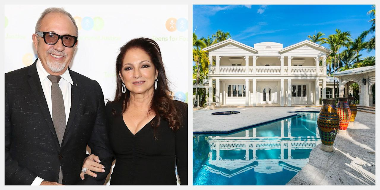 """<p>Grammy Award-winning musicians Gloria and Emilio Estefan have re-listed their magnificent Miami Beach estate, and this time, they're asking for $32 million. Through the sale of the estate, the lucky buyer would also have the opportunity to work with award-winning Uruguayan architect Carlos Ott on a complete renovation of the property. Emilio Estefan collaborated with Ott on architectural concepts that nod to the history of the property while infusing the home with a more modern aesthetic.<br><br>As one of the most sought-after locations in Miami, Star Island is an exclusive spot that has attracted the likes of A-list celebrities including Cher, Jennifer Lopez, and Ricky Martin. Sitting on 1.34 acres of land, the Estefan's estate features a separate guest house, """"La Casita,"""" sprawling waterfront views, and luxury amenities including a private dock and 24-hour security. It is listed by Stephanie Bienstock and Liz Lopez of <a href=""""http://www.relatedisgrealty.com/"""" target=""""_blank"""">RelatedISG International Realty</a>.</p><p>""""The property showcases the best of everything Miami has to offer-stunning waterfront views, unparalleled luxury, and now, a once-in-a-lifetime creative partnership."""" said Alex Vidal, president of RelatedISG International.</p><p>Gloria and Emilio's primary residence is only a short distance away from the estate, and the couple plans to work hand-in-hand with Carlos Ott to conceive the new design. """"This breathtaking estate has been a very special place for our family and friends, and it offers a level of safety, privacy and elegance that is simply unmatched,"""" said Emilio Estefan. </p><p><em>Tour the entire estate below.</em></p>"""
