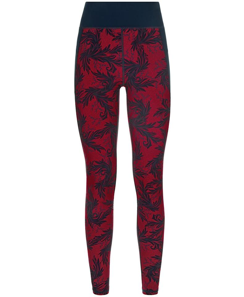 """<p><strong>Sweaty Betty</strong></p><p>sweatybetty.com</p><p><strong>$135.00</strong></p><p><a rel=""""nofollow"""" href=""""https://www.sweatybetty.com/us/zero-gravity-leggings/zero-gravity-run-leggings-SB4330A_AuberginePubLifePrint.html?cgid=zero-gravity-leggings&tile=3&dwvar_SB4330A__AuberginePubLifePrint_color=auberginepublifeprint#start=3"""">Shop Now</a></p><p>""""Aries are self-driven and self-motivated…and they are extremely competitive,"""" says Furiate. In the gym, this might translate to fast-paced workouts like kickboxing or HIIT (or other healthy ways to express that gloriously fiery personality). These high-performance leggings will carry Aries through any tough sweat session, and the red print fits right into her bold style.</p>"""