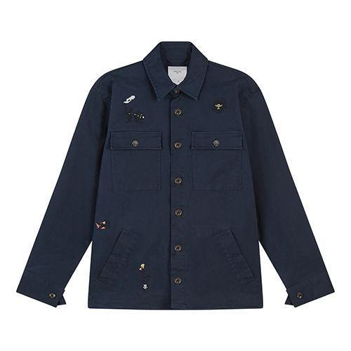 """<p><a class=""""link rapid-noclick-resp"""" href=""""https://www.percivalclo.com/collections/new-arrivals/products/tapestry-workshirt-struuwelpeter"""" rel=""""nofollow noopener"""" target=""""_blank"""" data-ylk=""""slk:SHOP"""">SHOP</a></p><p>""""In case you didn't get the memo, embroidery is now medium-to-large-sized vibe. In a sort of folky, nostalgic way, mainly (a la Bode), but elsewhere, brands are using it in irreverent detailing. Exhibit A: this over shirt by Percival. Its embroidered with designs by artist Sophy Hollington that look to tell the stories of creepy German childrens book, Struwwelpeter.""""</p><p><strong>Charlie Teasdale, Style Director</strong></p><p>£149, <a href=""""https://www.percivalclo.com/collections/new-arrivals/products/tapestry-workshirt-struuwelpeter"""" rel=""""nofollow noopener"""" target=""""_blank"""" data-ylk=""""slk:percivalclo.com"""" class=""""link rapid-noclick-resp"""">percivalclo.com </a></p>"""