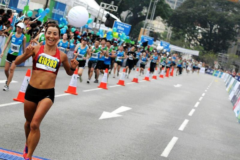 Runners can expect a more festive, fun route at this year's race. (From StanChart Marathon Facebook page)