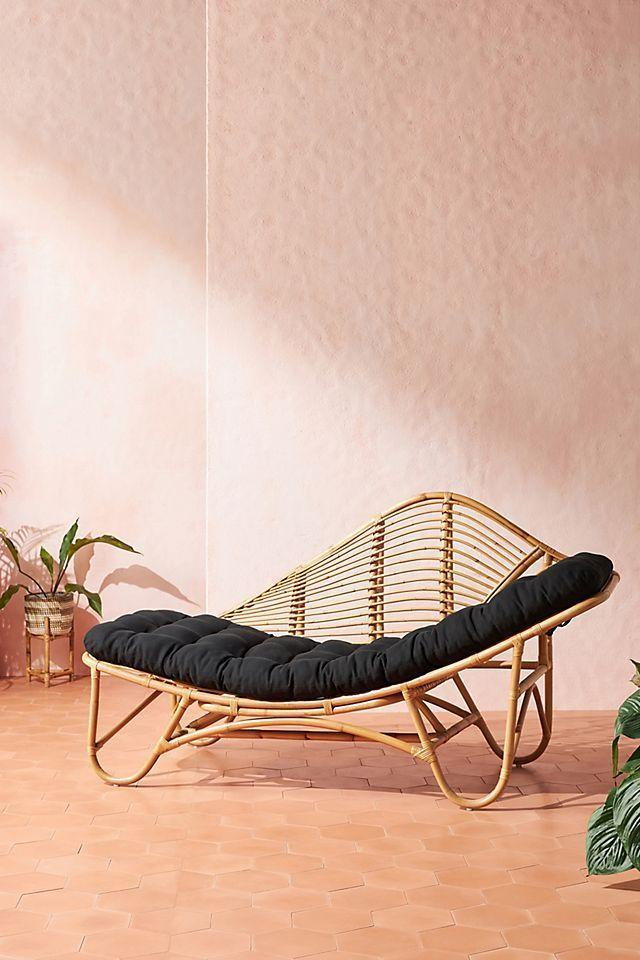 """<p><strong>Anthropologie</strong></p><p>anthropologie.com</p><p><strong>$798.00</strong></p><p><a href=""""https://go.redirectingat.com?id=74968X1596630&url=https%3A%2F%2Fwww.anthropologie.com%2Fshop%2Fpositano-rattan-indooroutdoor-chaise-lounge&sref=https%3A%2F%2Fwww.oprahdaily.com%2Flife%2Fg36661332%2Fbest-pool-lounge-chair%2F"""" rel=""""nofollow noopener"""" target=""""_blank"""" data-ylk=""""slk:SHOP NOW"""" class=""""link rapid-noclick-resp"""">SHOP NOW</a></p><p>This retro-inspired chaise makes quite the statement on your pool deck. You're sure to feel like a movie star perched here donning big oversized glasses, a chic suit, and a cocktail in one hand. And if you're looking for a reason to justify the expense, you can use this lounger as a piece of furniture inside during the off-season. </p>"""