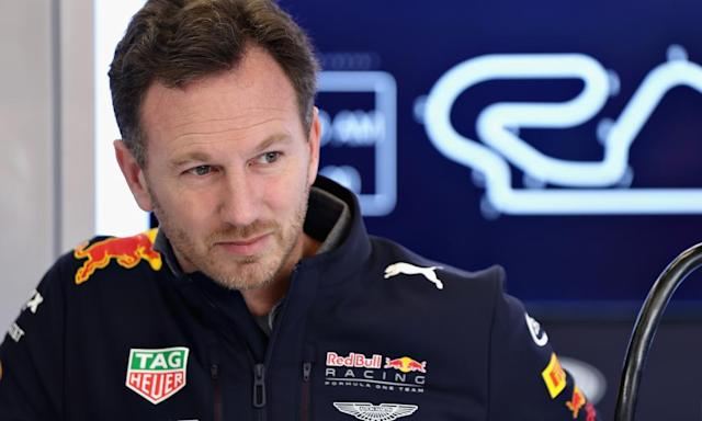 """<span class=""""element-image__caption"""">Christian Horner, the Red Bull principal, believes further sustained dominance by Mercedes would be unpalatable for F1.</span> <span class=""""element-image__credit"""">Photograph: Mark Thompson/Getty Images</span>"""