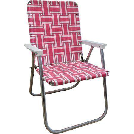 """<p><strong>Lawn Chair USA</strong></p><p>walmart.com</p><p><strong>$69.99</strong></p><p><a href=""""https://go.redirectingat.com?id=74968X1596630&url=https%3A%2F%2Fwww.walmart.com%2Fip%2F629753927&sref=https%3A%2F%2Fwww.countryliving.com%2Fshopping%2Fg32700041%2Fbest-lawn-chairs%2F"""" rel=""""nofollow noopener"""" target=""""_blank"""" data-ylk=""""slk:Sit a Spell"""" class=""""link rapid-noclick-resp"""">Sit a Spell</a></p><p>Sit pretty in pink! We're confident—like, Elle Woods confident—that a 1950s version of the Barbie Dreamhouse would have included a hot pink webbed lawn chair parked alongside cheeky lawn flamingos.<br></p>"""
