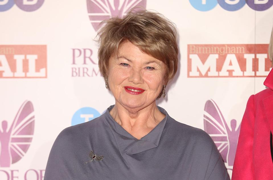 Annette Badland played Aunt Babe in 'EastEnders' from 2014 to 2017. (Getty Images)