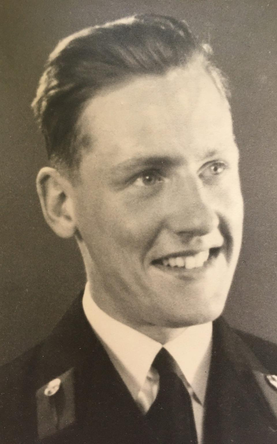 Jim Booth in the wartime years - family photo