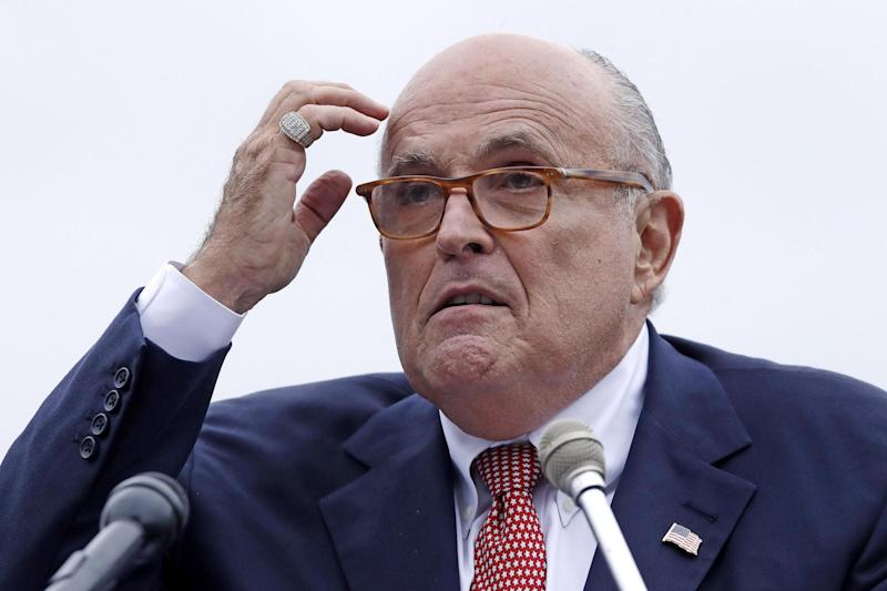 Rudy Giuliani, attorney for President Donald Trump, has been subpoenaed by the House Intelligence Committee: AP