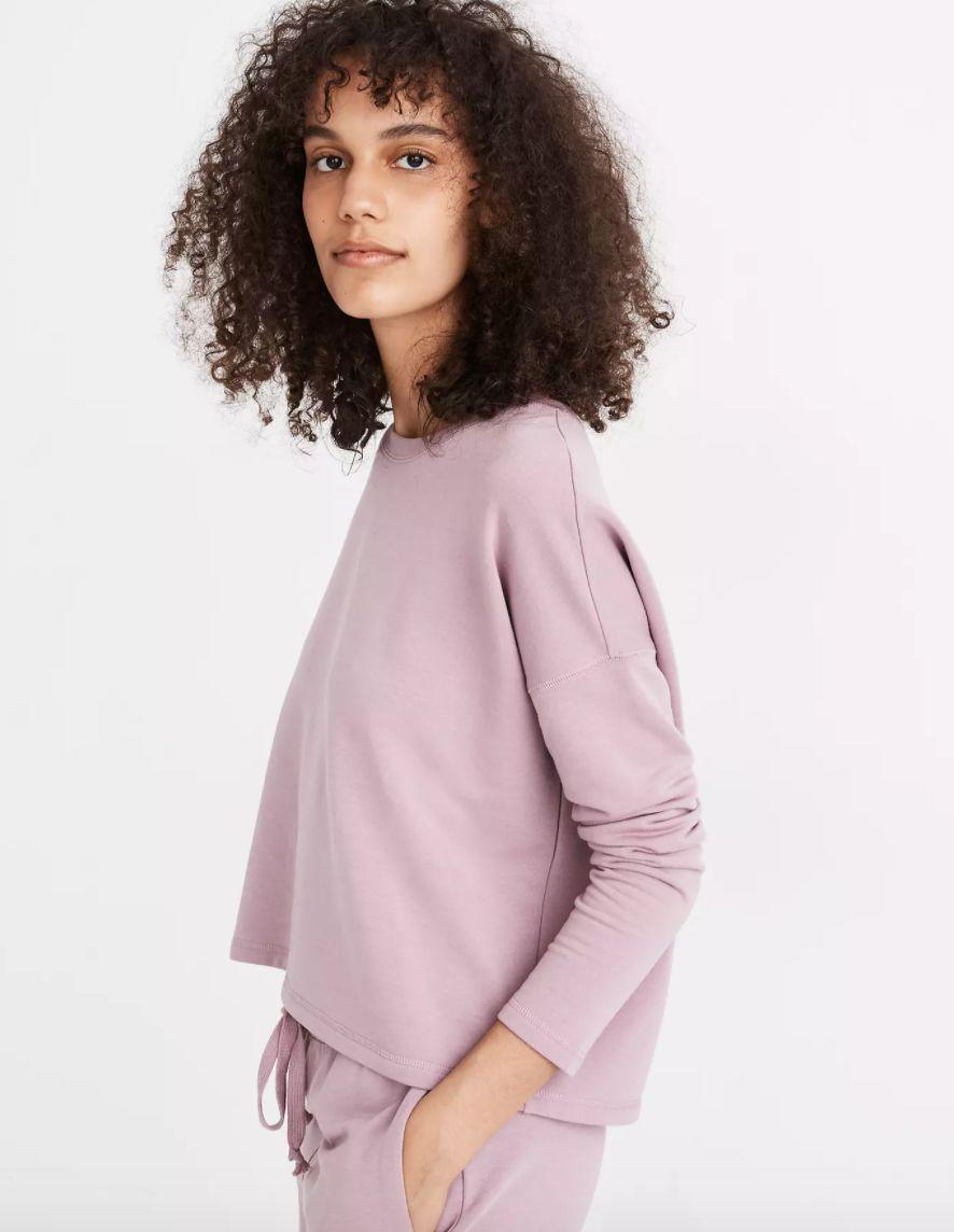 "<a href=""https://fave.co/35jtikH"" target=""_blank"" rel=""noopener noreferrer"">Find it for $60 at Madewell</a>. This also comes in a ""black coal"" color."