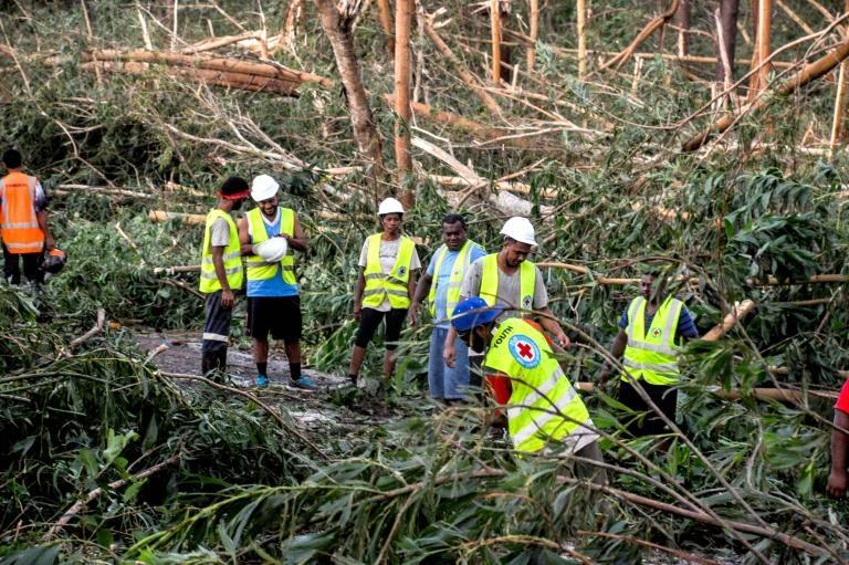 A state of natural disaster has been declared for 30 days in Fiji as emergency services scramble to provide food and clothing to the worst affected areas