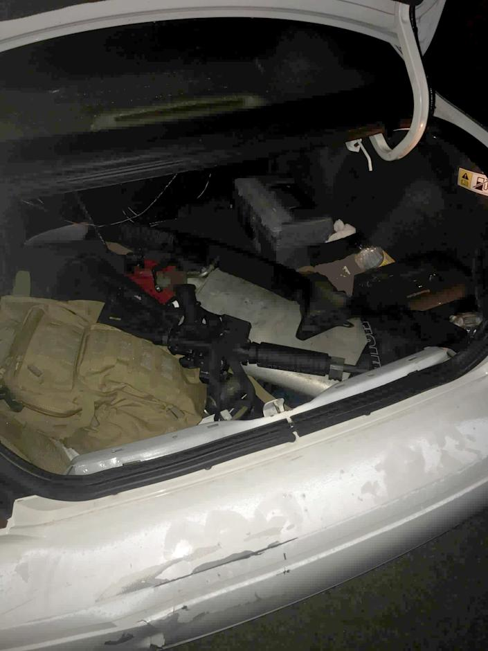 Kyle Rittenhouse told Antioch police where to find the gun he used in the Kenosha protest shooting. The gun was in the trunk of a friend's car, along with another firearm owned by his friend.