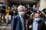 82-year-old barrister Martin Lee was among those convicted