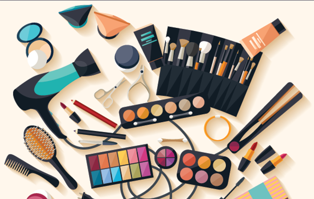 Make-up suddenly doesn't look so daunting. Photo: Getty