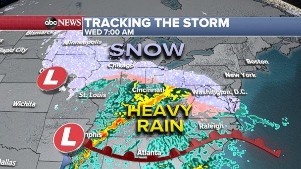 Sunny Tuesday, winter weather advisory issued ahead of Wednesday snow event