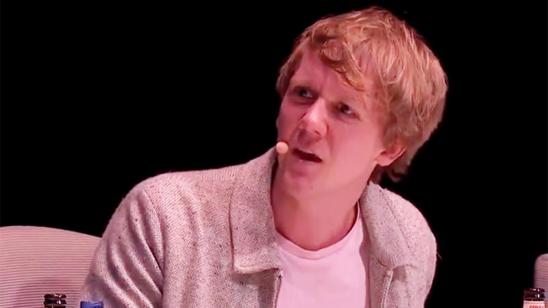 Josh Thomas has come under fire after comments made in 2016 resurfaced. Photo: Twitter/MoreblessingMa