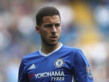 Chelsea's Eden Hazard will lead the attack against Barcelona in their Champions League fixture on Tuesday. Getty Images/ File