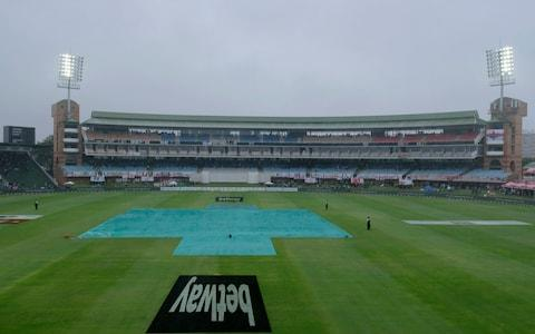 Rain has stopped play in Port Elizabeth - Credit: AP
