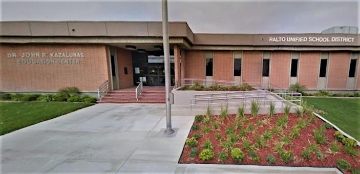 "The Rialto Unified School District <span class=""copyright"">(Google Maps)</span>"