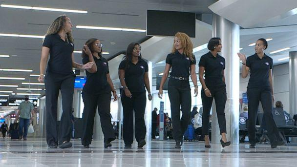 PHOTO: Sisters of the Skies (SOS) says their mission is to 'develop pathways and partnerships to increase the number of black women in the professional pilot career field.' (ABC News)