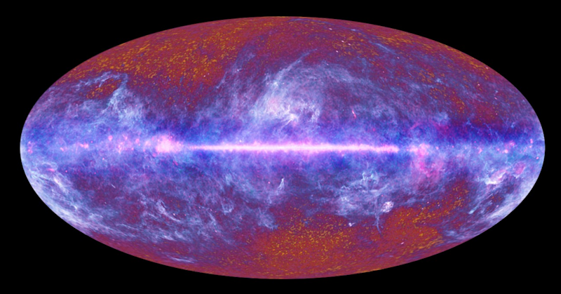 Cosmic Microwave Background (ESA)