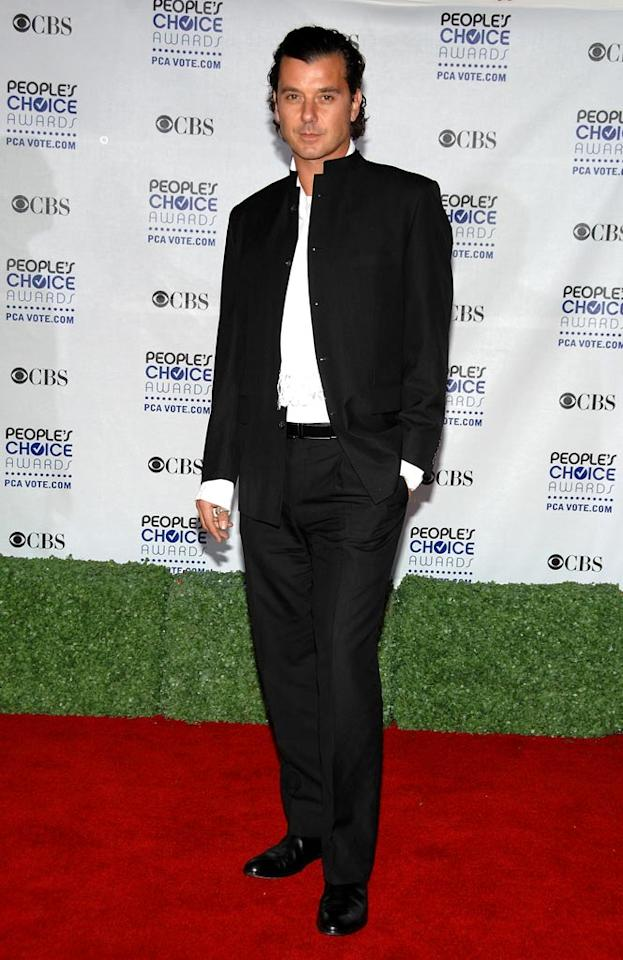 """<a href=""""/gavin-rossdale/contributor/888452"""">Gavin Rossdale</a> arrives at the 35th Annual People's Choice Awards held at the Shrine Auditorium on January 7, 2009 in Los Angeles, California."""