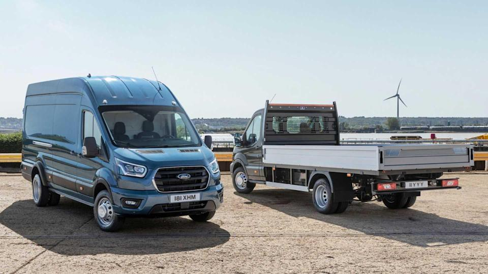 Ford Transit five-tonne panel van and chassis cab