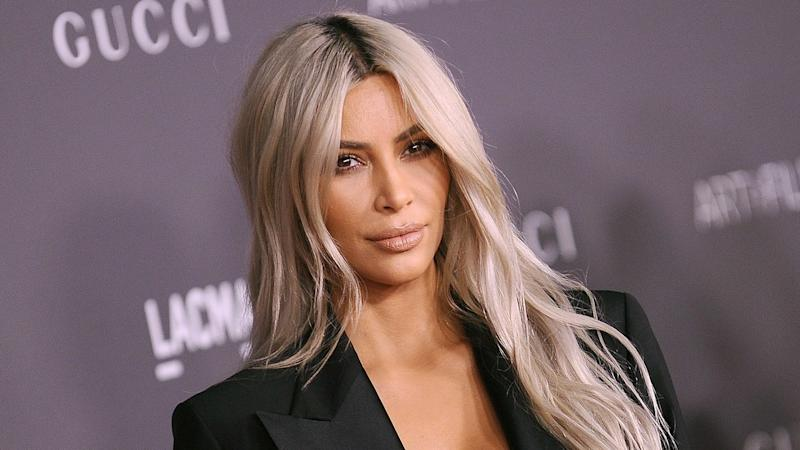 Kim K goes completely nude to mould her body for perfume bottle