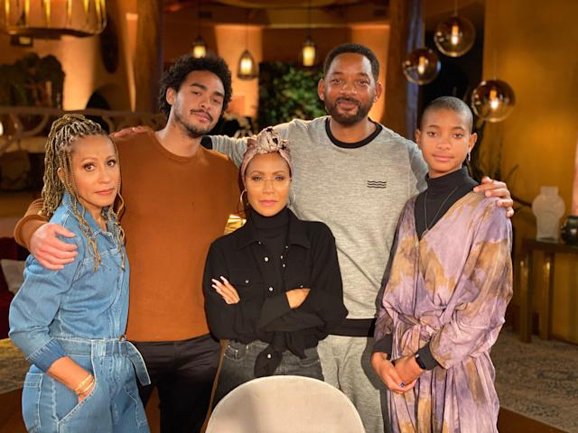 Jada Pinkett Smith leads her family in another coronavirus discussion on <em>Red Table Talk</em>.