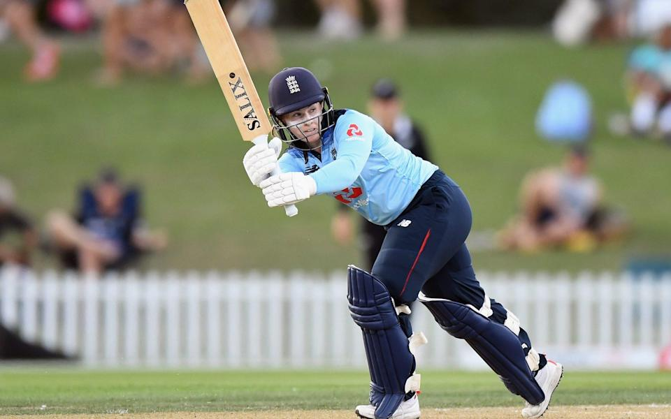 Tammy Beaumont top-scored for England with 72 - GETTY IMAGES