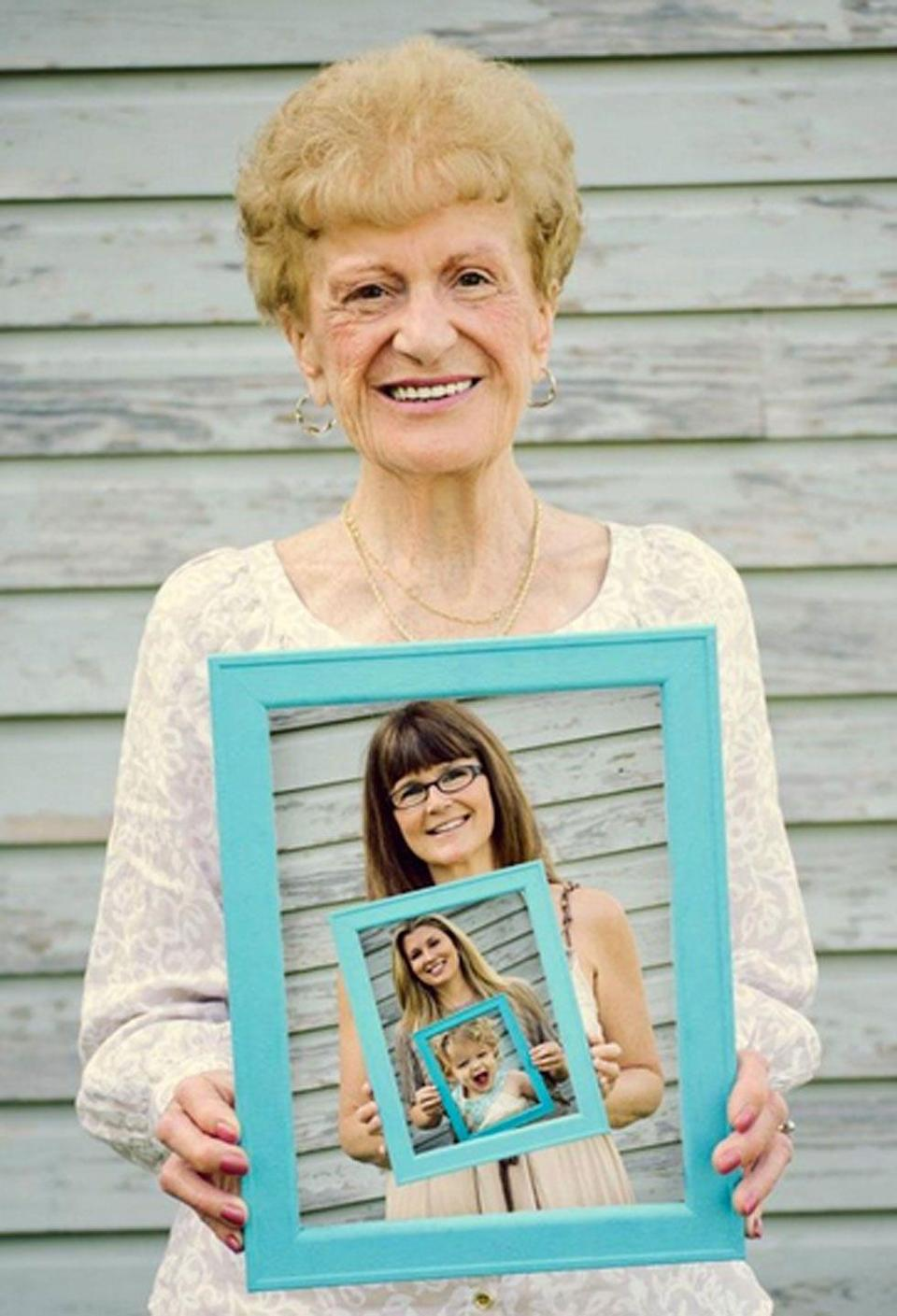 """<p>Gift your mom with this """"photo in a photo"""" of all the generations of her family. You can even keep the tradition going year after year (or when more generations are born!).</p><p><strong>See more at <a href=""""http://www.moosephotography.net/family.html"""" rel=""""nofollow noopener"""" target=""""_blank"""" data-ylk=""""slk:Moose Photography"""" class=""""link rapid-noclick-resp"""">Moose Photography</a>.</strong></p>"""