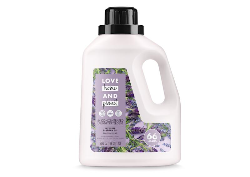 Love Home & Planet Lavender & Argan Oil Concentrated Laundry Detergent