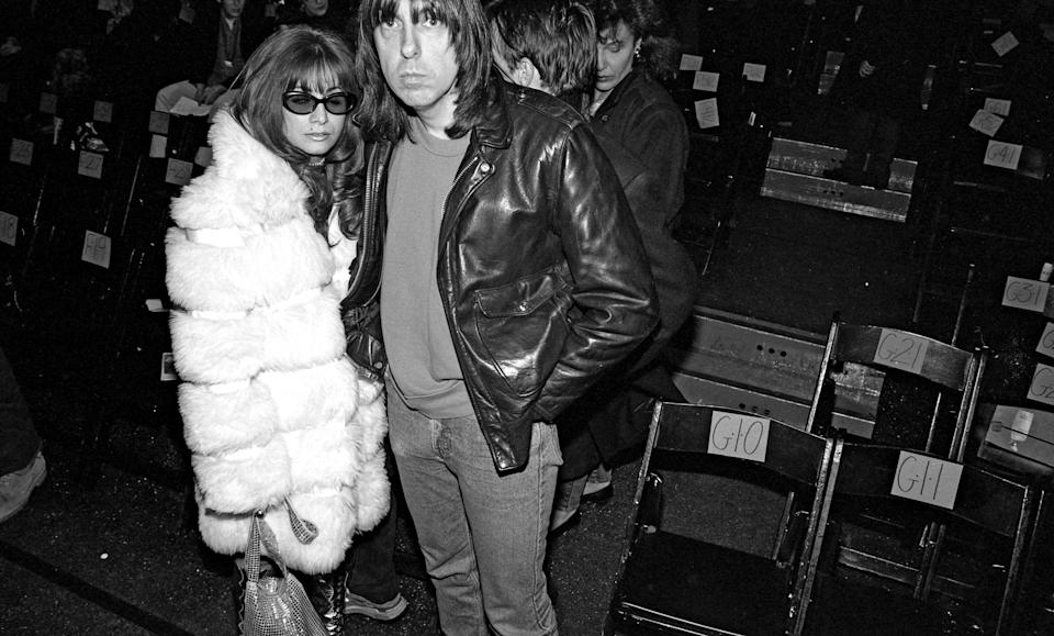 Johnny and Linda Ramone in 1994. (Photo: Catherine McGann/Getty Images)