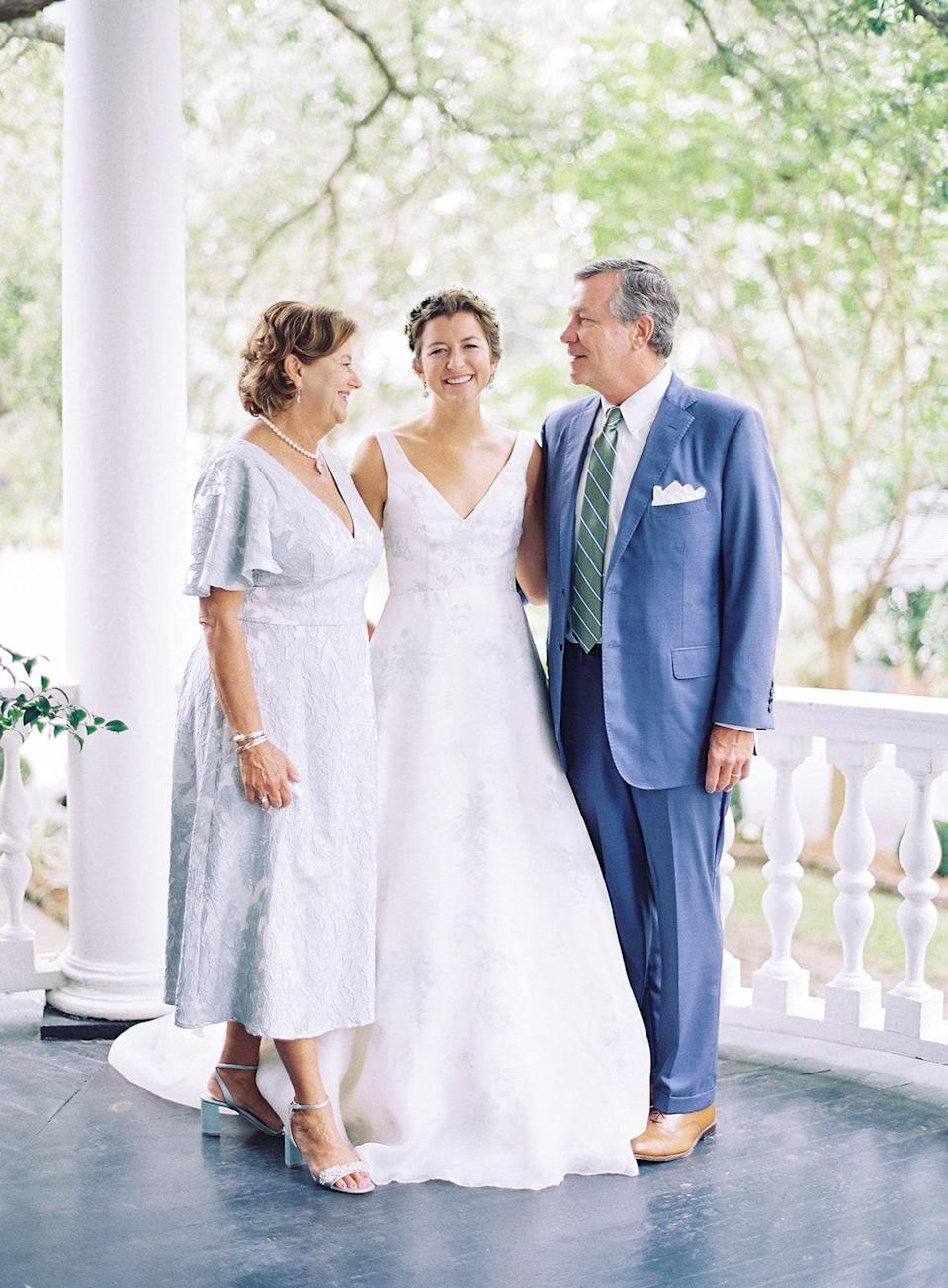My parents, David and Mariana. My mom and I have the exact same name. It can be very confusing, so my dad started calling me Miniature Mariana, and it kinda stuck. That's why I go by Mini!