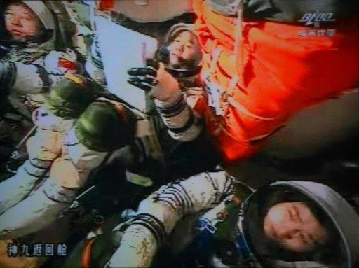 Three Chinese astronauts have returned to Earth after carrying out China's most complex and longest mission in orbit