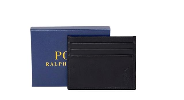 Polo Ralph Lauren Classic Leather Cardholder