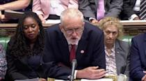 Weekly question time debate in Parliament in London