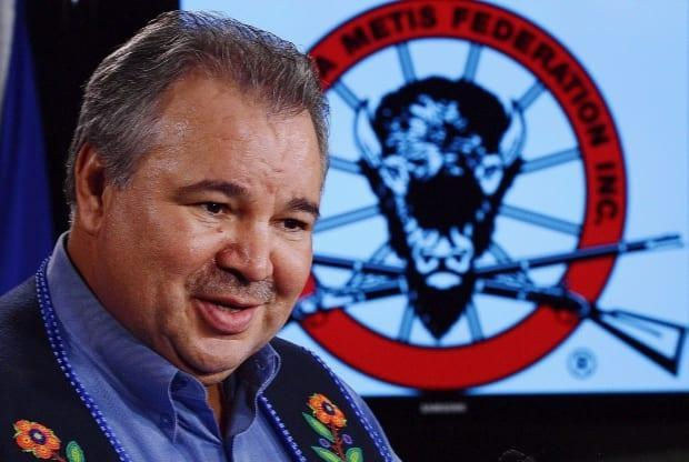 David Chartrand, vice-president of the Métis National Council, says communities outside northwestern Ontario saying are not connected to the Métis homeland or to the culture of the nation. (Sean Kilpatrick/The Canadian Press - image credit)